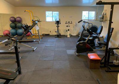 Workout Gym at Tucson, Arizona RV Park
