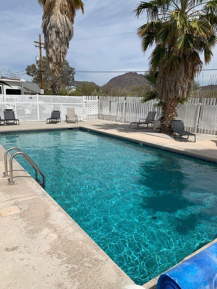 Tucson AZ RV Park with Pool