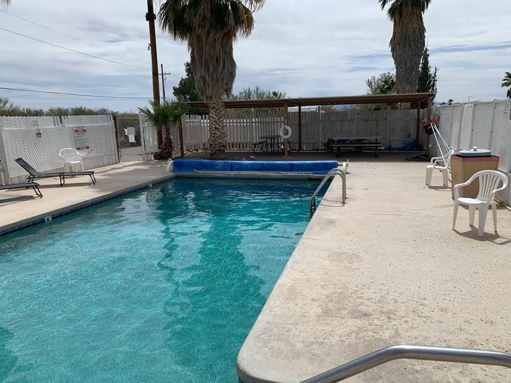 Pool at Tucson, Arizona RV Park